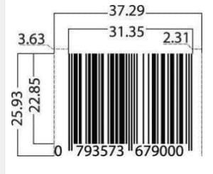 EAN-13 Barcode Specifications | International Barcodes